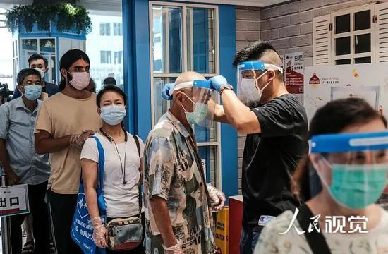 7月29日,香港慈云山街图普及多项措施加强防疫中心