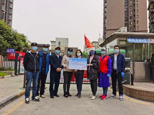 武汉市中级人民法院刑事审判一庭下沉社区突击队值守小区成为无疫情小区