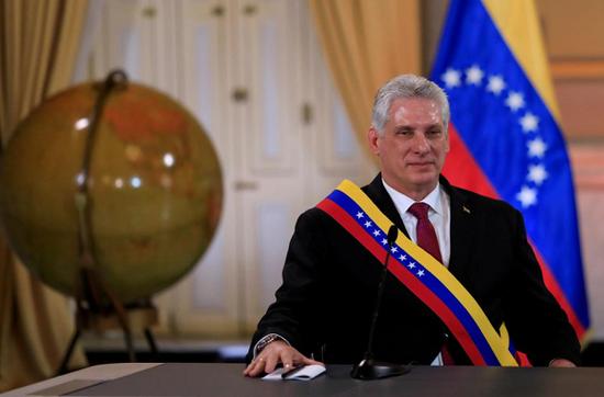 古巴领导人米格尔•迪亚兹-卡纳尔(路透社)