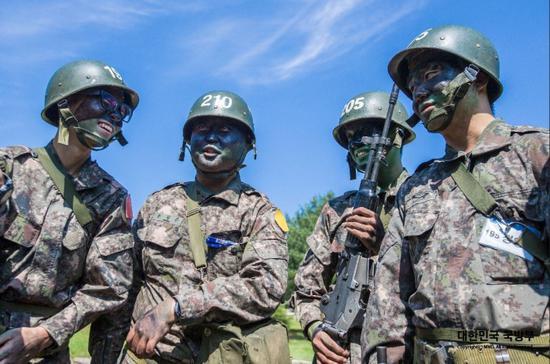 原料图(韩国国防部官网)