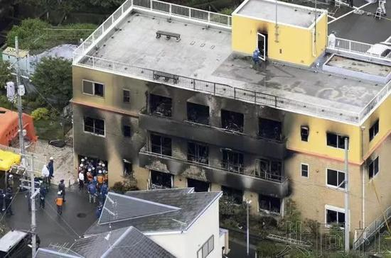 京都动画遭总纵火:3部临近完稿的动画原稿被烧毁