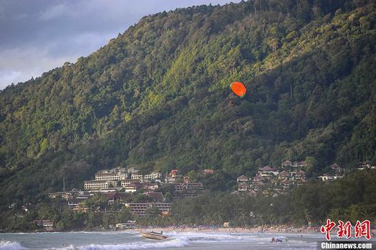 资料图:普吉岛一处海滩。洪坚鹏 摄