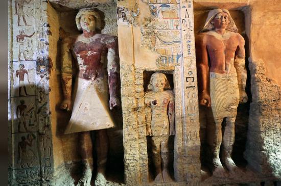 埃及发现距今4400年墓葬:过去几十年中独一无二