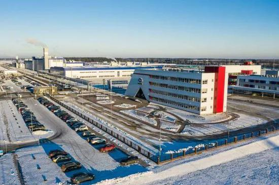 ▲原料图片:白俄罗斯吉利全散件汽车制造厂(张若玄 摄)