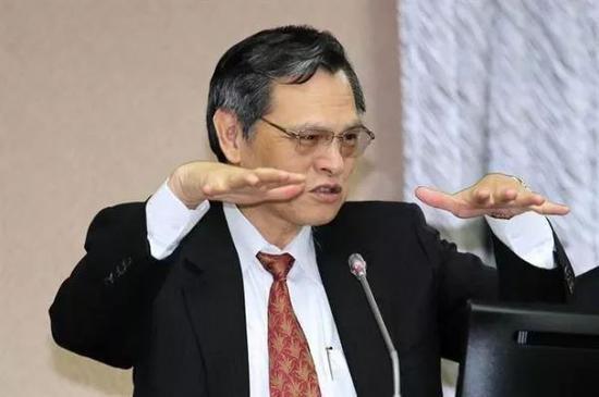 """▲陈明通(台湾""""中时电子报"""")"""