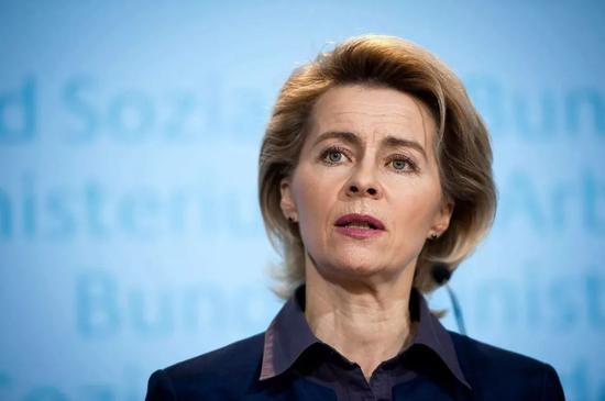 她生完7个开始从政 一不小心躺赢欧盟委员会主席