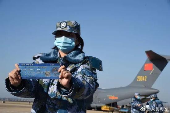 海军医疗队驰援武汉