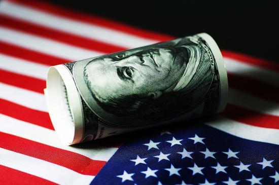 美国2020财年预算赤字创历史记录 债务规模超过GDP