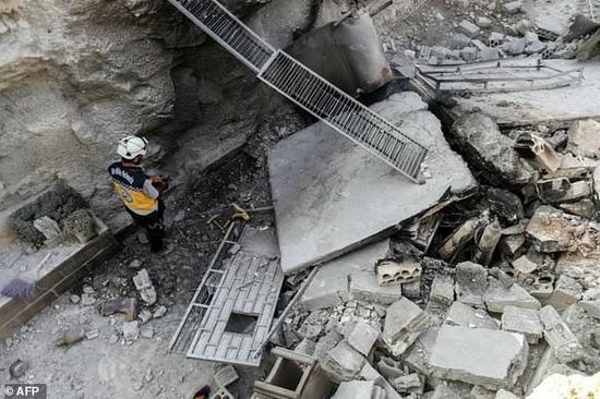 叙利亚战况 (图源:法新社)