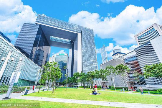 香港特区政府总部(视觉中国)