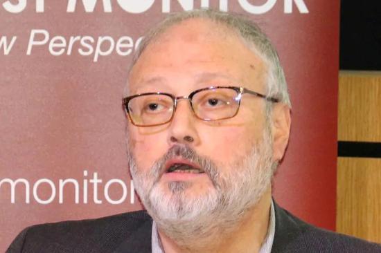 遇害沙特记者卡舒吉(路透社)