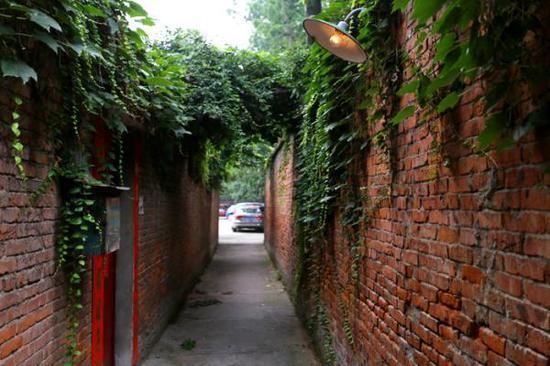 二月河家门前幼巷