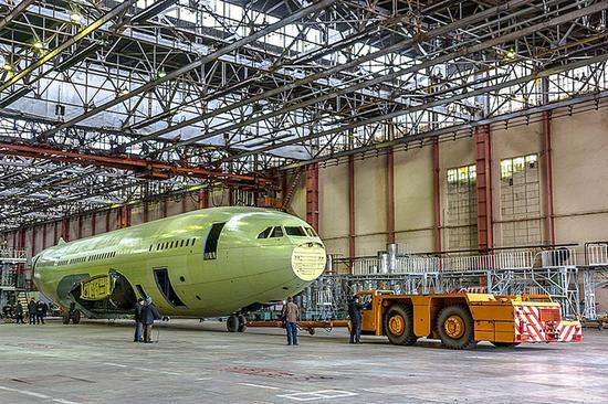 Il-96-300飞机(图源:rusaviainsider网站)
