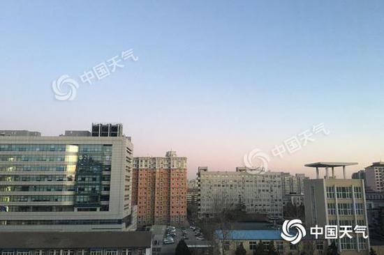 北京今天最高气温仅1℃阵风六级 下周再降至零下
