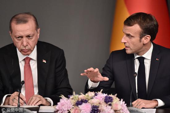 """今年10月27日,土耳其曾邀俄、法、德""""四方峰会""""试图找到叙利亚内战的持久性政治解决方案。(图:视觉中国)"""