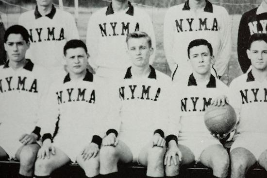 纽约军事学院时期的特朗普