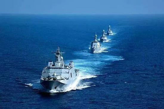 2018年中国-东盟举走首次海上说相符军演
