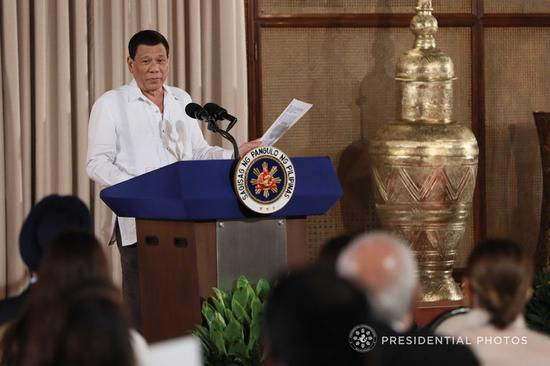 菲律宾总统杜特尔特(CNN)