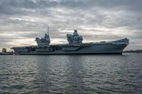▲英国海军伊丽莎白女王号航母(视觉中国)