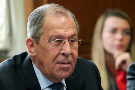 """拉夫罗夫表示对俄追加制裁""""毫无意义""""。(图:视觉中国)"""