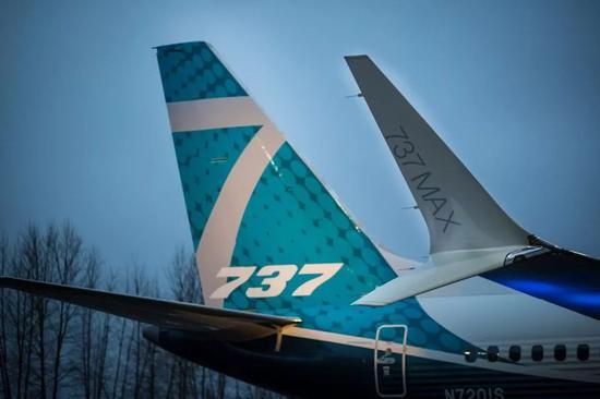 波音737MAX飞机 图片来源:波音官网