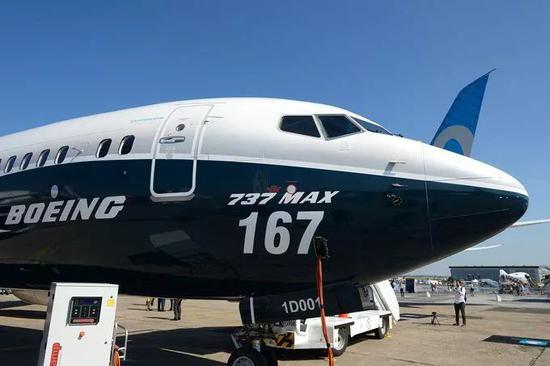 资料图:737 MAX某机型飞机