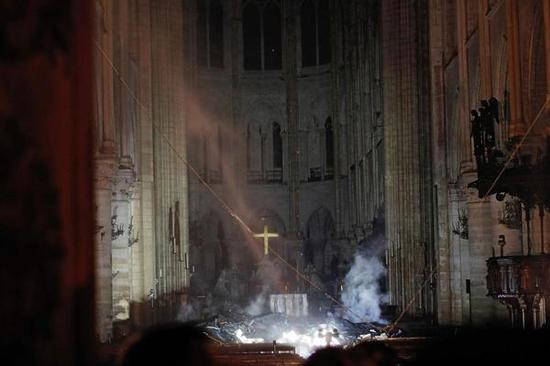 First picture of Notre Dame Cathedral in Paris was exposed after the fire