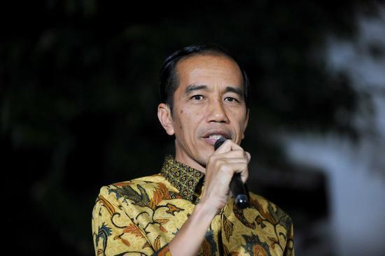 资料图:印尼总统佐科(图源:新华社)
