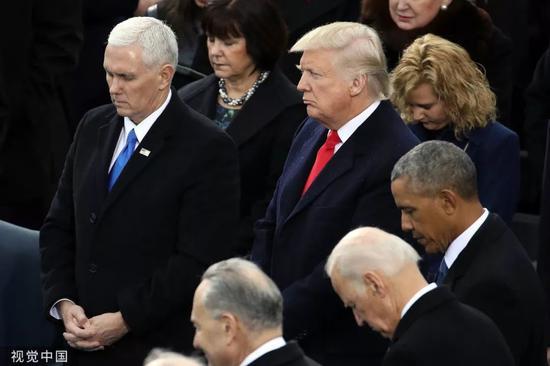 ▲资料图片:2017年1月20日,美国第45任总统唐纳德·川普的就职典礼举行。