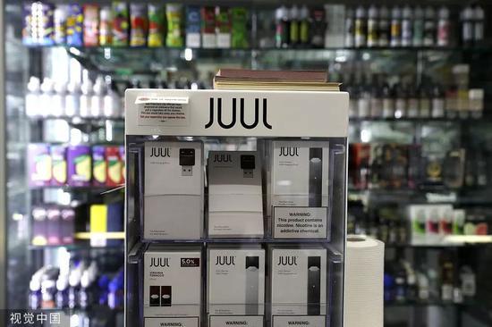 Juul电子烟/视觉中国
