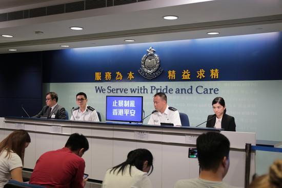 香港警方:暴徒袭警及殴打市民常态化
