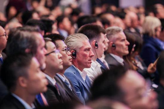 10月19日,首届跨国公司领导人青岛峰会在山东青岛召开。来源:新华社、中国日报