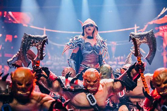 《魔兽世界》舞蹈秀