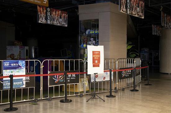 仍未开工的电影院。图片来源:视觉中国