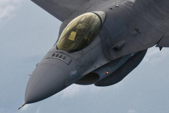 ▲原料图片:F-16战机(新华社)