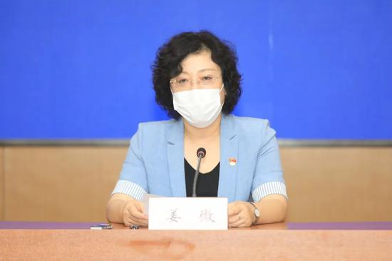 大连市文化和旅游局新闻发言人 副局长姜微