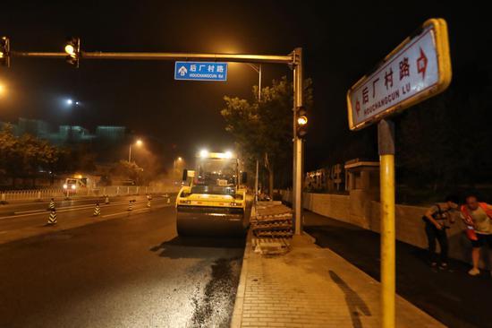 北京首条自行车专用路西延主体工程基本完工