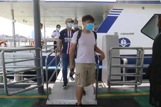 8月20日,往来澳门内港航线正式恢复运营