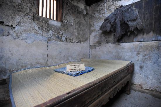 △在湖南省汝城县沙洲村,保留着当年三名女红军与徐解秀同住的老屋与小床。