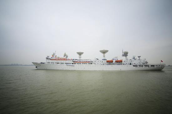 此次出航,远望3号船归来已是2021年。亓创摄
