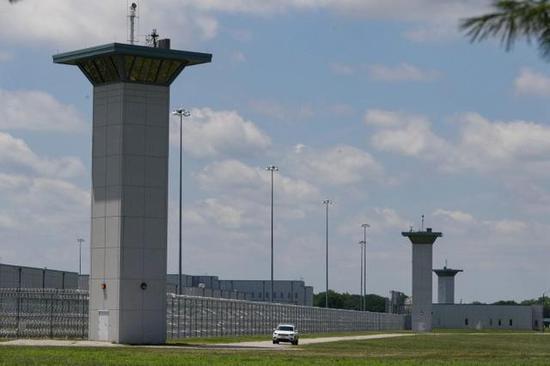 位于美国印第安纳州特雷霍特的联邦监狱,3名物化囚异日几周将在这边被实走物化刑 图源:美联社