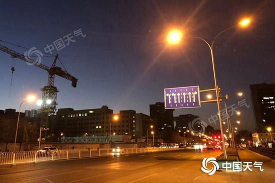 干冷!北京今日天气晴朗 最高气温仍位于冰点