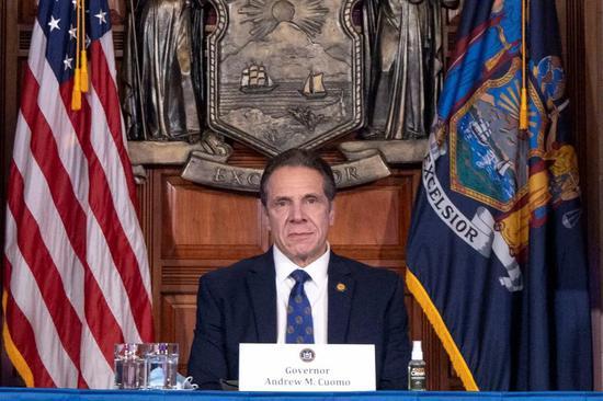紐約州州長安德魯·科莫材料圖。圖源:《每日野獸》