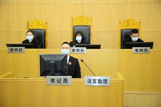 图说:全国首例电商平台涉反通知义务案二审宣判。龚史伟 邱诗韵供图