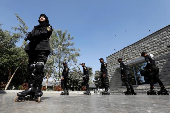 巴基斯坦警方成立轮滑小队