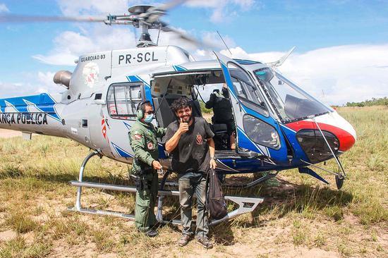 巴西男子丛林坠机后被困 靠吃水果鸟蛋生存38天