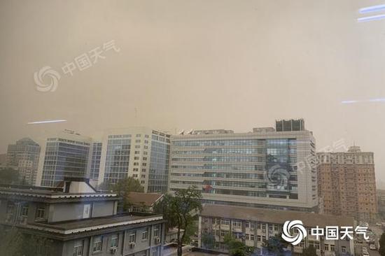 北京沙尘影响将持续至今天前半夜 未来三天不会回流