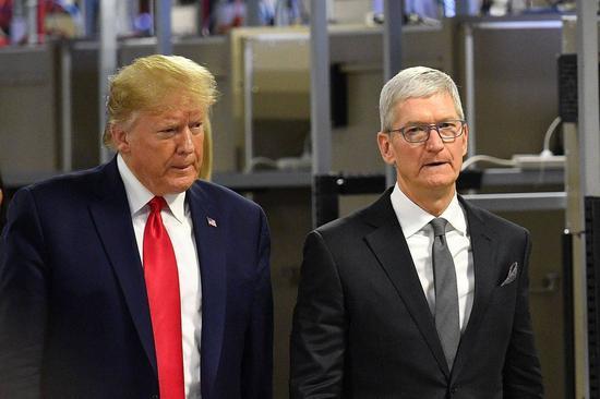 """在特朗普时期强迫苹果提供民主党议员账号数据?美司法部将开展""""自查"""""""