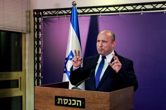 以色列新一任总理贝内特。/IC Photo