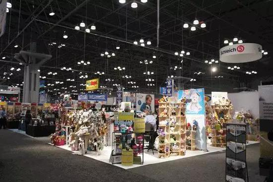 纽约玩具展现场